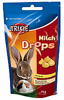 Витамины Trixie Milk Drops для грызунов с молоком и медом, 75 г