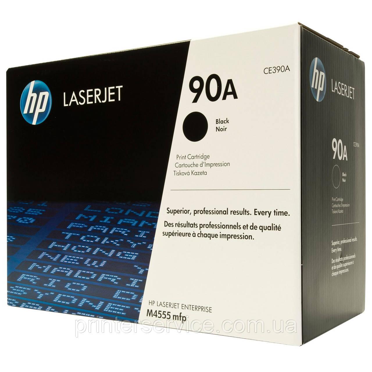 CE390A (90A) картридж для HP LJ Enterprise M4555, M601, M602, M603 series