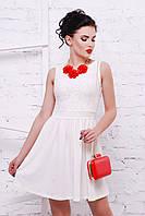 Женское гипюровое  платье «Настя»