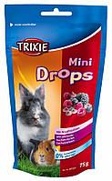 Витамины Trixie Mini Drops для грызунов с лесными ягодами, 75 г, фото 1