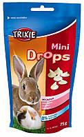 Витамины Trixie Mini Drops для грызунов с йогуртом, 75 г, фото 1