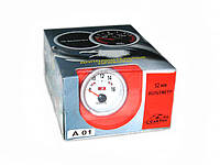 Вольтметр стрелочный 7701(А 01) LED d52мм (шт.)