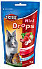 Витамины Trixie Mini Drops для грызунов с клубникой, 75 г