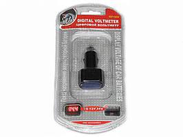 Вольтметр в прикуриватель 12-24V (3 знака) 0224/WF-021 (шт.)