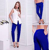 Классические женские брюки «Stels» электрик