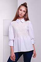 Рубашка с прошвой  «Афина»