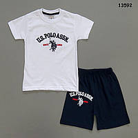 Летний костюм Polo для мальчика. 1-2; 2-3; 4-5; 6-7 лет