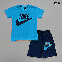 Летний костюм Nike для мальчика. 1-2; 2-3; 4-5; 6-7 лет