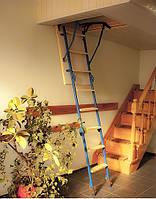Лестница чердачная 90 х 63 h 285 см