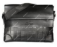Вместительная сумка для мужчин черная (54018н)