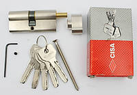 Cisa Astral 70мм 35х35 ключ/тумблер никель (Италия)