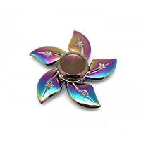 Спиннер Fidget звезда перламутровый металл