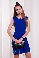 """Платье с ожерельем """"Лола"""" Blue"""