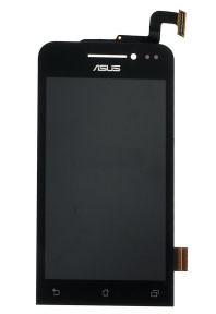 Дисплей с тачскрином Asus ZenFone 4 черный (A400CXG) в рамке