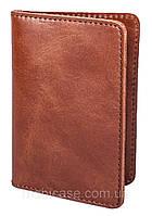 Обложка для пластиковых документов водителя  VIP (хамелеон коричневый) ., фото 1