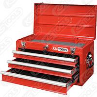 Тумба для инструментов с 3 ящиками, красная, L508xH255xB303 мм Германия