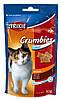 Лакомство Trixie Crumbies для кошек с солодом, выведение комочков шерсти, 50 г