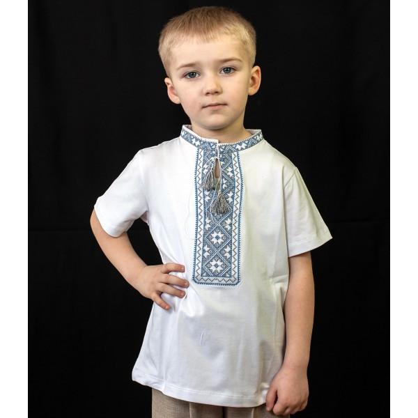 футболка вышиванка для мальчика