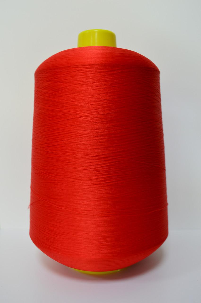 Текстурированная нитка цвет красный