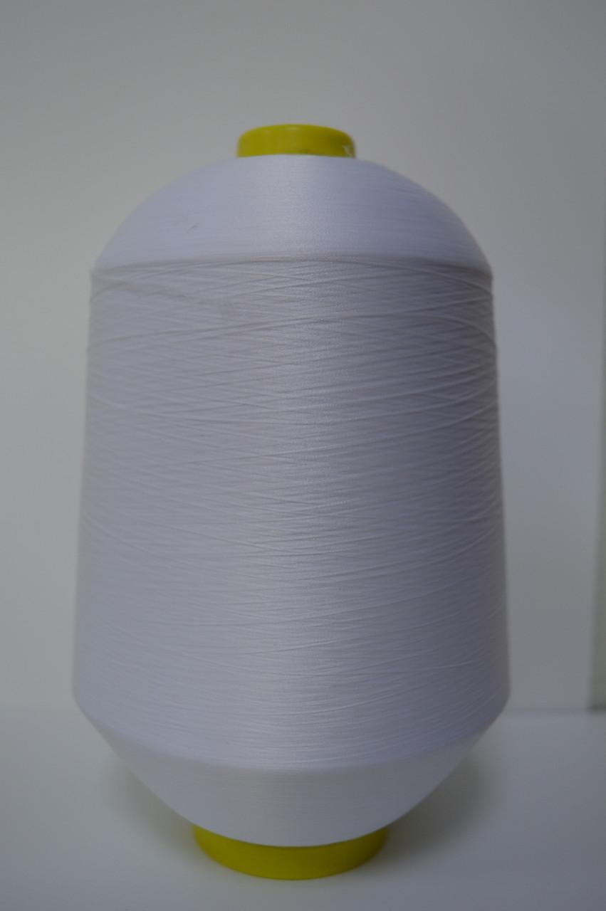 Текстурированная нитка цвет белый