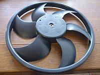 Вентилятор осн радиатора комплект 2 пина 6 лопастей D380 1.4 8V 1.9D Peugeot 206 1998-2006
