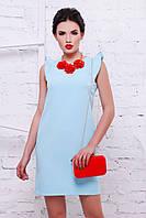 """Нарядное женское платье """"Ангелина"""" Blue"""