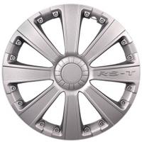 Колпаки колесные неубиваемые  цвет серый RS-T R13