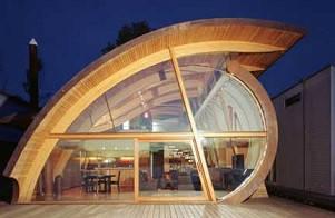 Применение гнутой балки, это любое воплощение дизайнера, архитектора, проэктанта!