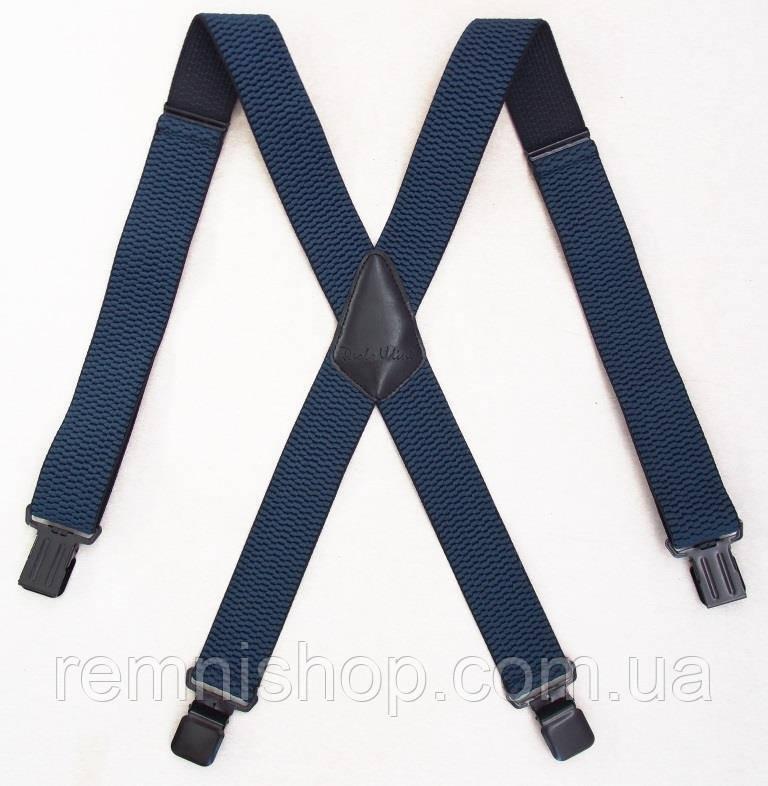Широкие мужские подтяжки Paolo Udini джинсовые