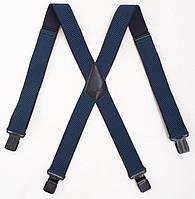 Широкие мужские подтяжки Paolo Udini джинсовые, фото 1