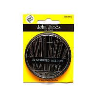 30 Sewing needles (30шт) Набор швейных игл John James (Англия) JJ80000