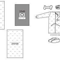 Комплект для офтальмологии №3/Б операционный стерильный Славна