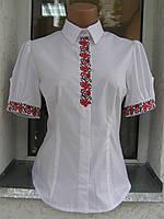 """Вышитая блуза женская """"Подоляночка"""" с коротким рукавом (арт. СК4-56.0.6), фото 1"""