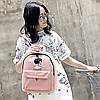 Стильный рюкзак с рисунком девушки, фото 3