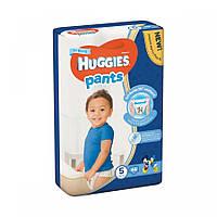Подгузники-трусики Huggies Размер 5 для мальчиков 12-17 кг, 44 шт