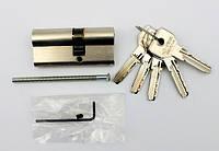 Cisa Asix 70мм 40х30 ключ/ключ никель (Италия)