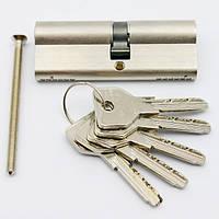 Cisa Asix 85мм 40х45 ключ/ключ никель (Италия)