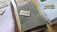 Теплые детские носки с добавлением шерсти от турецкого производителя Bross (размеры 34-36)