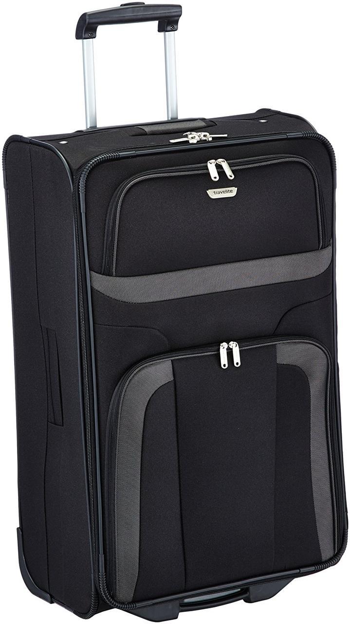 Большой чемодан на колесах Travelite  Orlando L TL098489-01, 80 л