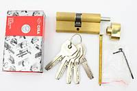 Cisa Asix 60мм 30х30 ключ/тумблер латунь (Италия)
