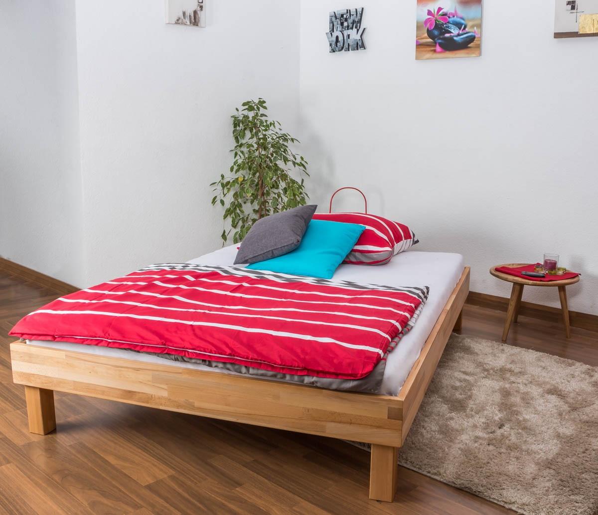 Кровать полуторная B 105 140х200 Бук (Mobler TM)