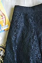 Черная кружевная юбка Forever 21, фото 2