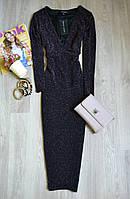 Новое миди платье с блестящей ниткой New Look