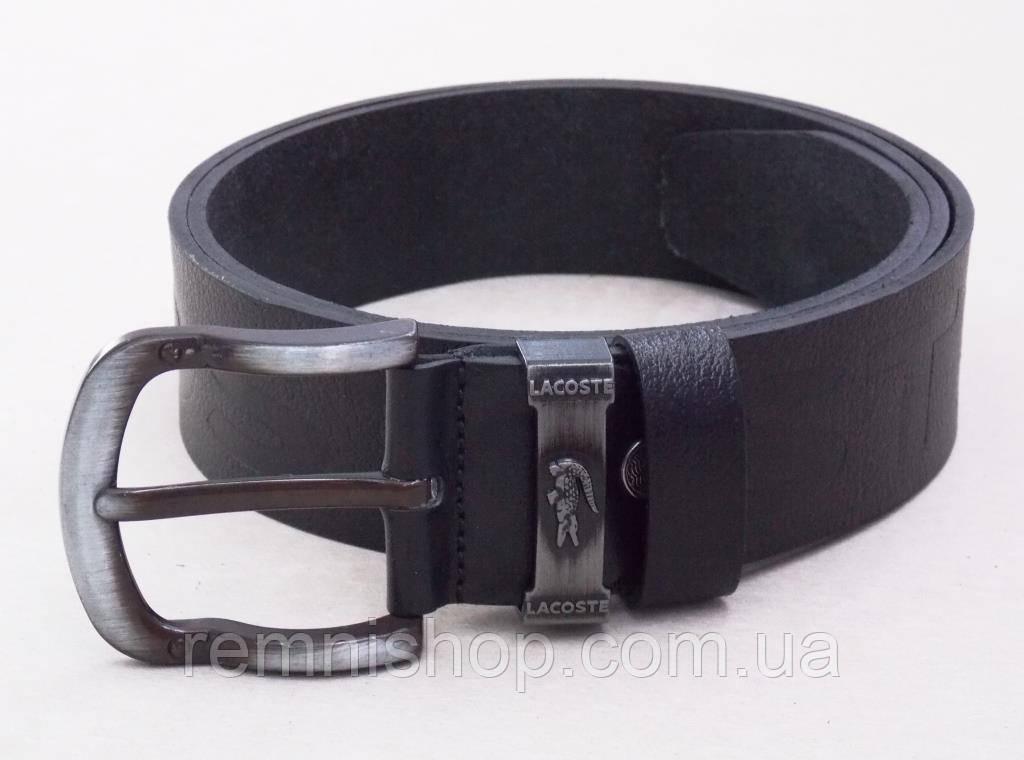 2304564d5aad Кожаный мужской ремень для джинс Lacoste