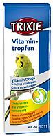 Капли Trixie Vitamin Drops для птиц, укрепление иммунитета, 15 мл
