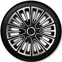 Колпаки на колеса r13 Motion Silver Black Racing4