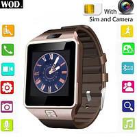 Умные часы Smart Watch GSM Camera DZ09, купить наручные часы