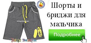 Спортивные шорты синего цвета для мальчика Размеры: 5,6,7,8 лет (20116-1) - фото 2