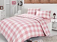 Полуторное постельное белье Boxer розовое    ранфорс, полуторное