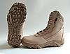 Текстильные песочные тактические ботинки берцы на змейке Delta Cordura (копия), фото 4
